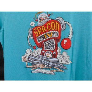 Spa Con IV 2019 Convention T Shirt L Hot Springs C